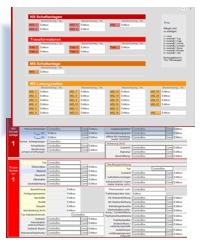 Formular für mobile Auftragsbearbeitung und Datenerfassung